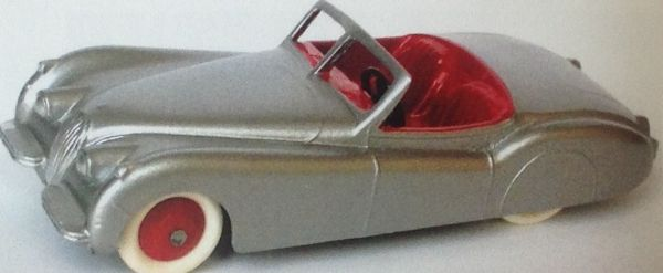 CLUB DINKY FRANCE MODEL No. CDF33 ROADSTER XK120